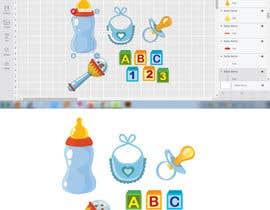 Nro 29 kilpailuun Original Clipart Design, Baby Clipart käyttäjältä mohinofficial