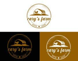 #55 untuk Vintage farm logo for cary's farm.  It's grows microgreens locally oleh eartservice