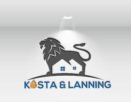 "nº 242 pour We are realtors. We want to keep ""Kosta & Lanning"" but we need to create a better logo to surround that and we hope it to also get some kind of insignia that compliments this logo. Fire. A lion. Or something. par DesignarParvaj"