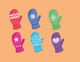 #14 for Original Clipart Design, Christmas Star, Angel, Mittens af fadilox