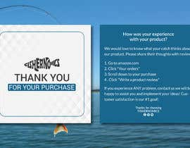 #38 untuk Help design my thank you card for Amazon oleh apuahammed96