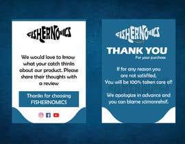 #43 untuk Help design my thank you card for Amazon oleh ashikul353