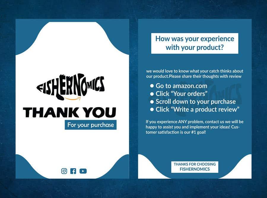 Penyertaan Peraduan #                                        47                                      untuk                                         Help design my thank you card for Amazon