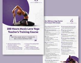 #9 for Design a clean yoga teacher brochure by indriwhinputri