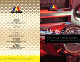 #4 untuk Cover and Back Cover Design for Brochure - Coating Company targeted for Automotive Industry oleh rockapl