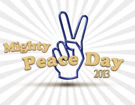 nº 28 pour Logo Design for Mighty Peace Day 2013 par monuch2001