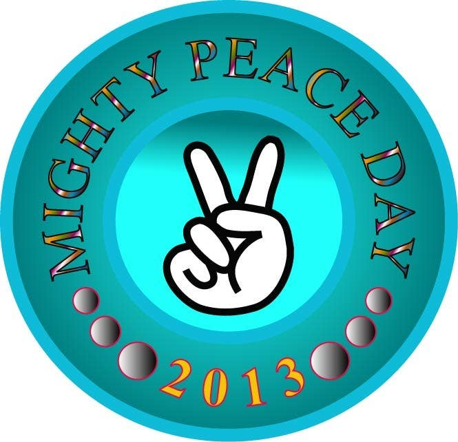 #19 for Logo Design for Mighty Peace Day 2013 by Monjul