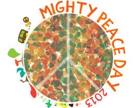 nº 10 pour Logo Design for Mighty Peace Day 2013 par daduckjr