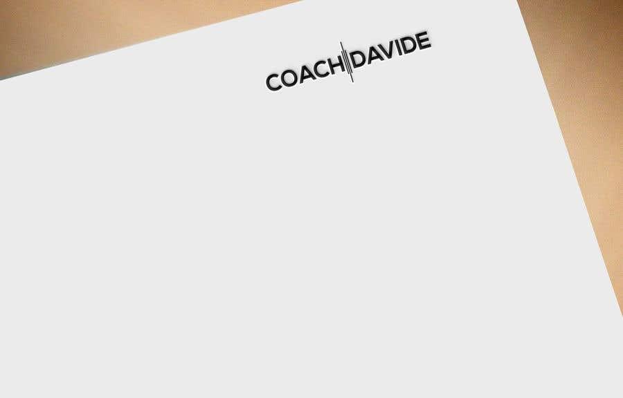 Kilpailutyö #                                        188                                      kilpailussa                                         Logo for personal trainer - Coach Davide