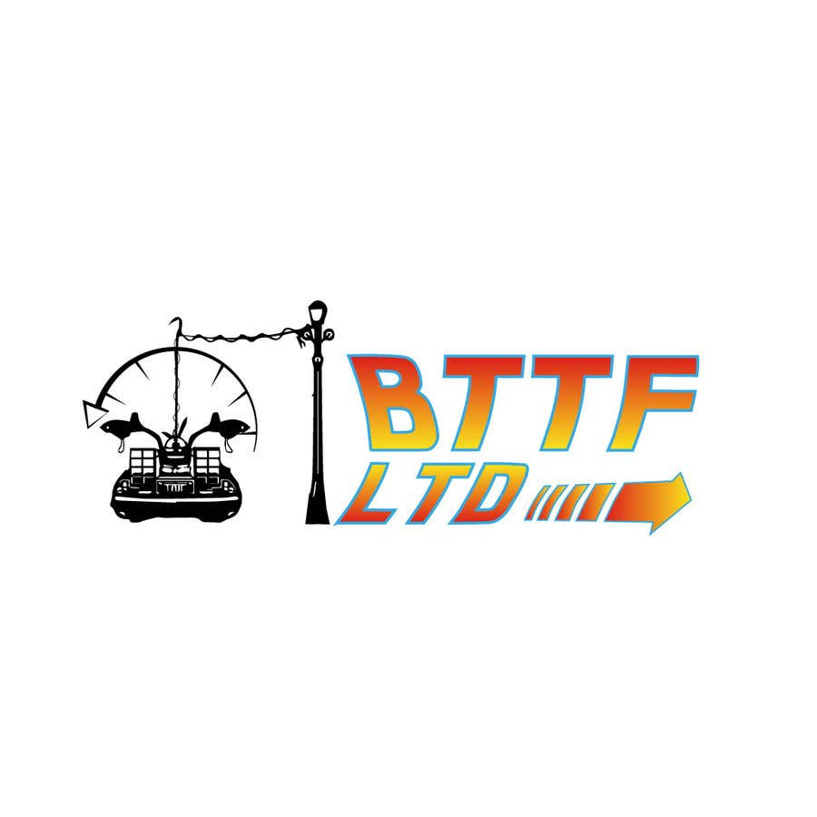 Konkurrenceindlæg #                                        143                                      for                                         Design a logo for a Back To The Future Car Hire Company called BTTF LTD