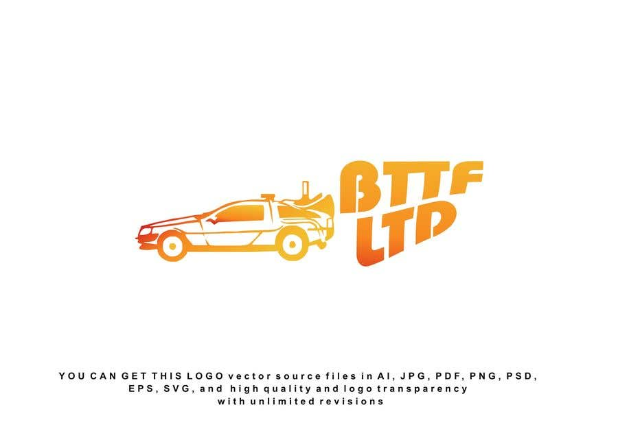 Konkurrenceindlæg #                                        191                                      for                                         Design a logo for a Back To The Future Car Hire Company called BTTF LTD