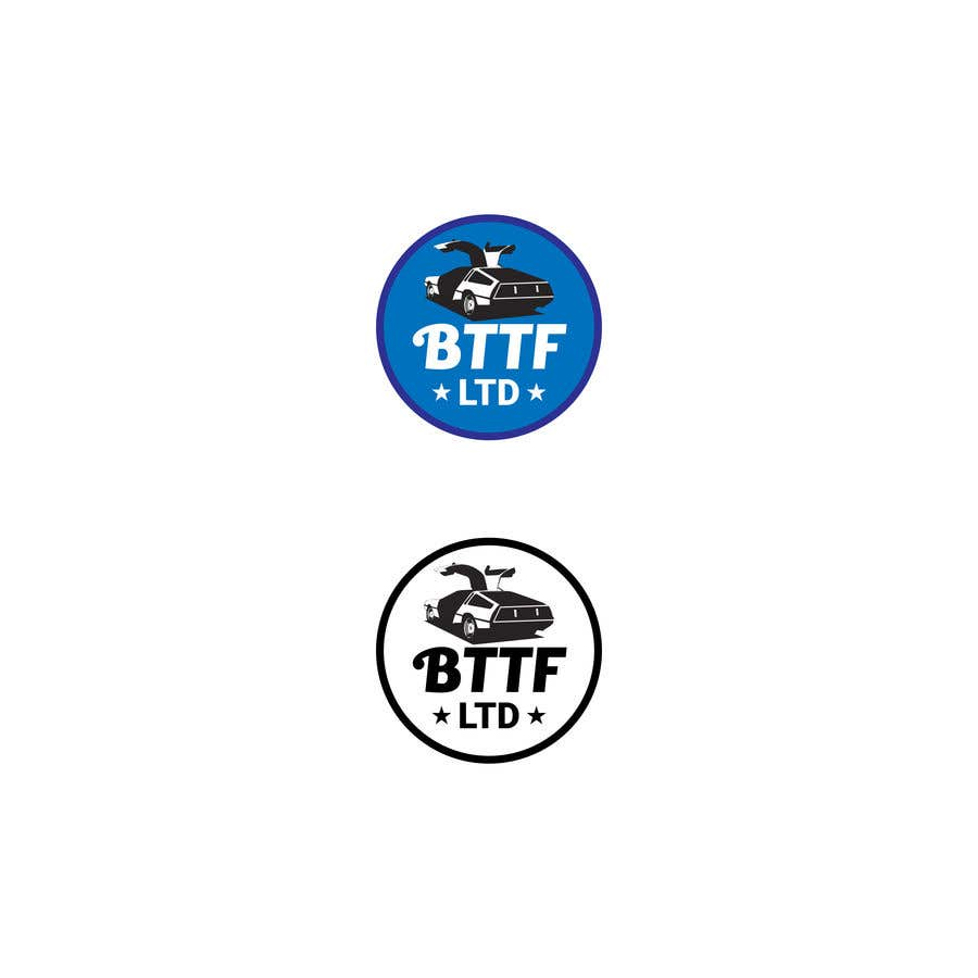 Konkurrenceindlæg #                                        137                                      for                                         Design a logo for a Back To The Future Car Hire Company called BTTF LTD