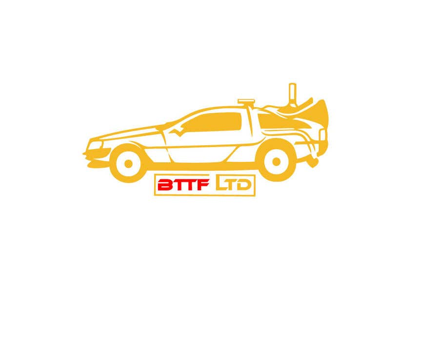 Konkurrenceindlæg #                                        162                                      for                                         Design a logo for a Back To The Future Car Hire Company called BTTF LTD