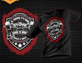 Nro 17 kilpailuun Design a tee-shirt - Of course it's hard. Hard is what makes it great. käyttäjältä Maxbah