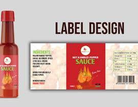 Nro 42 kilpailuun Label for a food product käyttäjältä imranislamanik