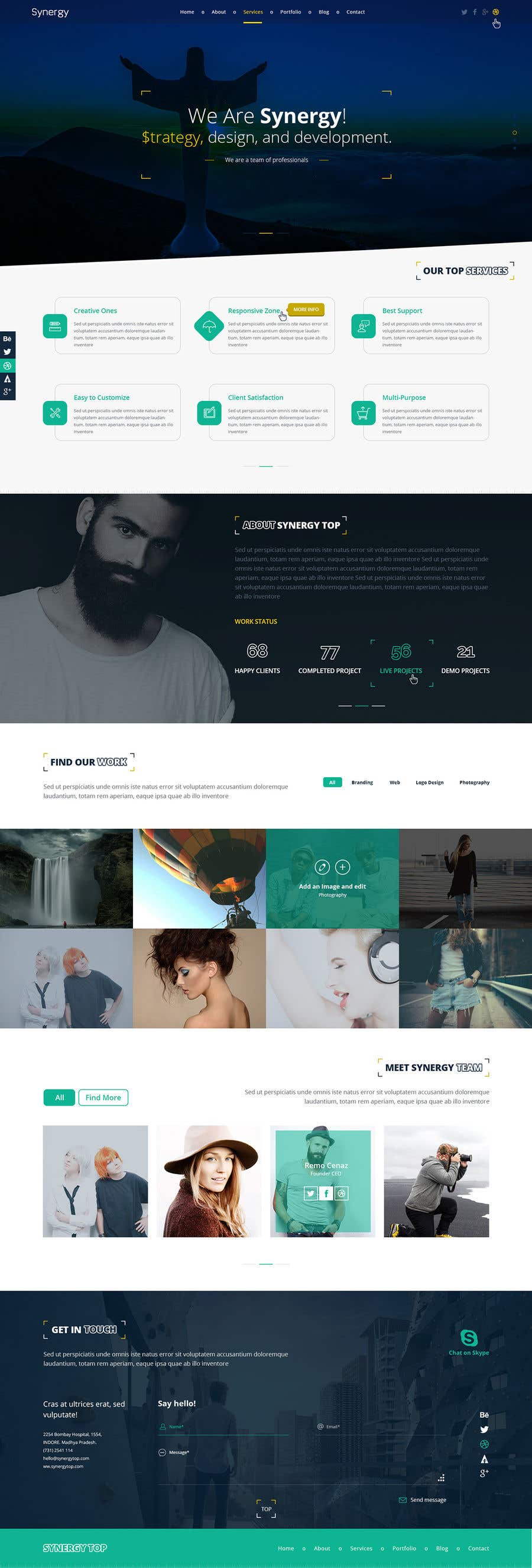 Contest Entry #                                        15                                      for                                         Redesign Pinterest UI/UX Homepage/Profile page