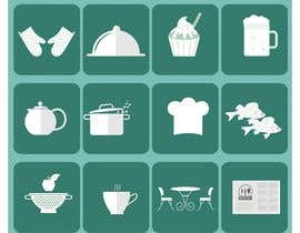 #24 for Restaurant Icon set by fozlerabbicpa
