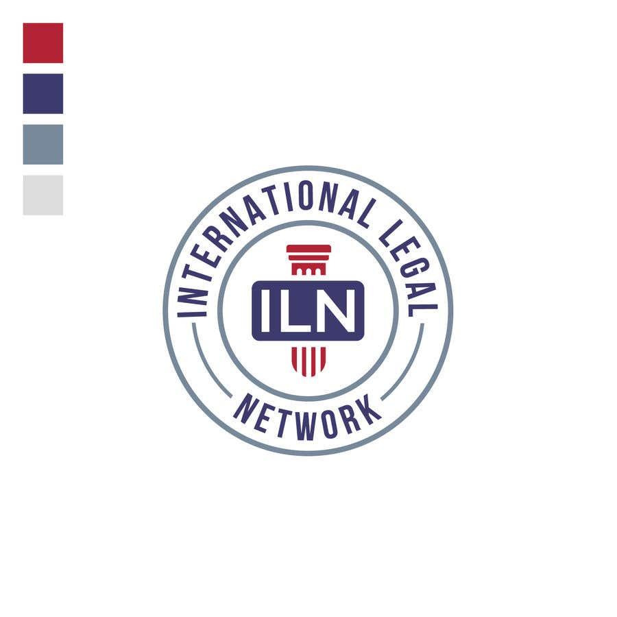 Konkurrenceindlæg #                                        485                                      for                                         Logo for international law firm