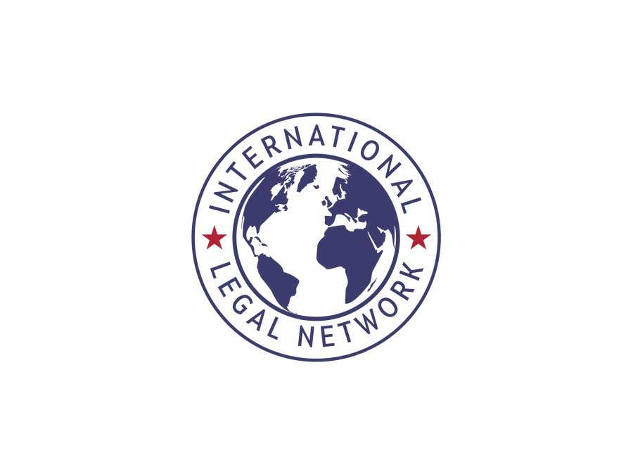 Konkurrenceindlæg #                                        601                                      for                                         Logo for international law firm
