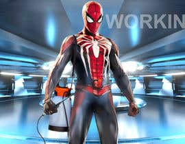 #8 for IMAGE OF SPIDERMAN WORKING AS PEST CONTROL OPERATOR af designermomin28
