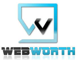 #58 para Logo Design for WebWorth por boby85