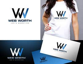 #191 para Logo Design for WebWorth de twindesigner