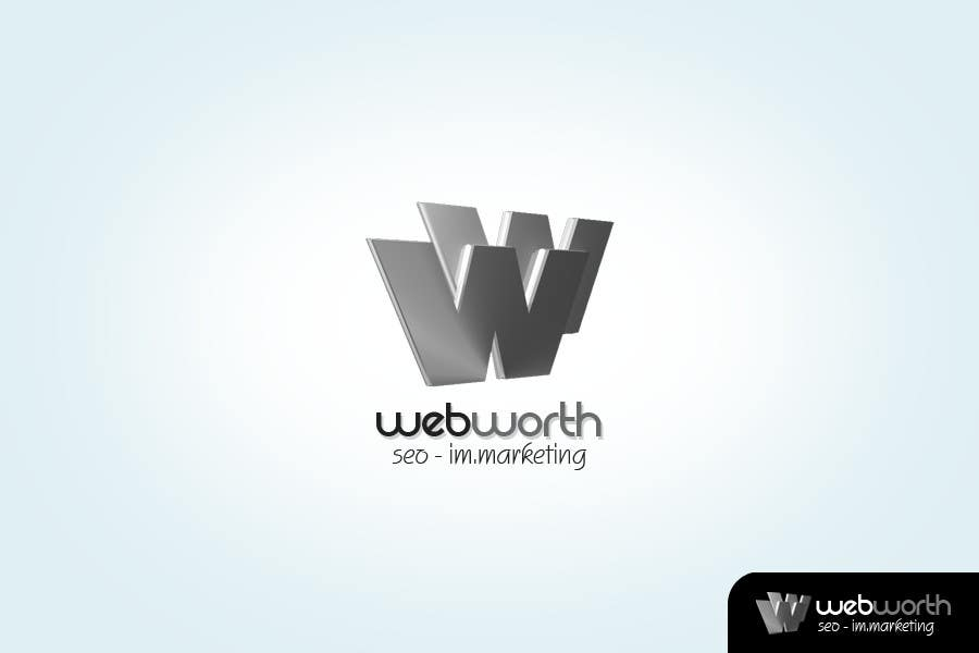 #278 for Logo Design for WebWorth by LostKID