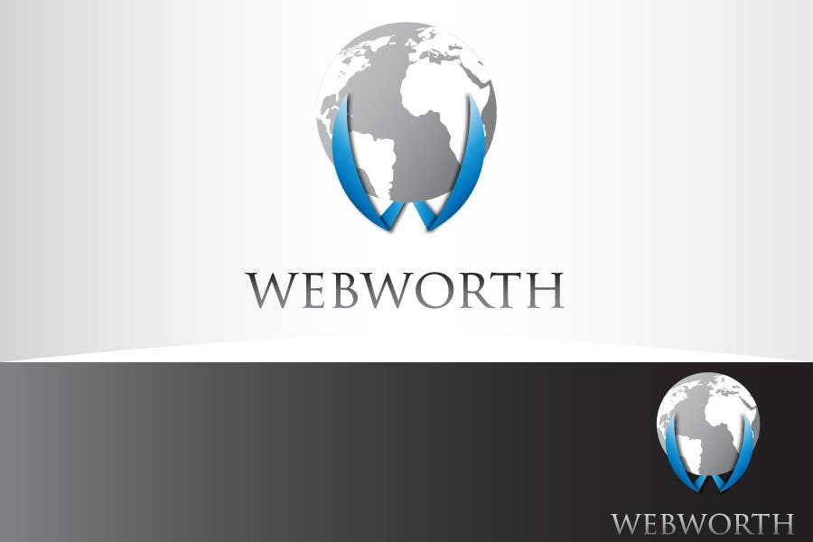#13 for Logo Design for WebWorth by Ouzair