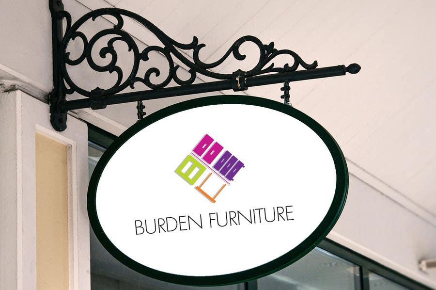 Participación en el concurso Nro.129 para Design a Logo for Burden Furniture