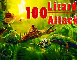 Nro 23 kilpailuun Create a Youtube thumbnail photo ----- for a youtube video (lizards) käyttäjältä iliasbd34