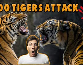 #129 for Create a Youtube thumbnail photo ----- for a youtube video (tigers)) by bazi8162