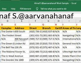 Nro 94 kilpailuun Retrieve data from website käyttäjältä aarvanahanaf