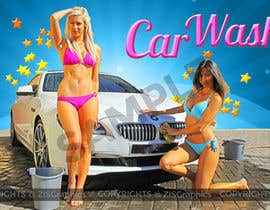#14 para Design a Banner for Car Wash de ZISGraphics
