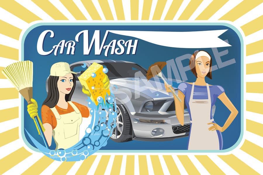 Participación en el concurso Nro.16 para Design a Banner for Car Wash