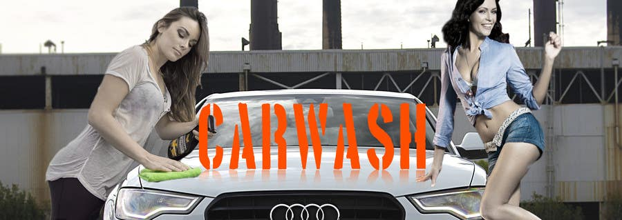 Contest Entry #                                        20                                      for                                         Design a Banner for Car Wash
