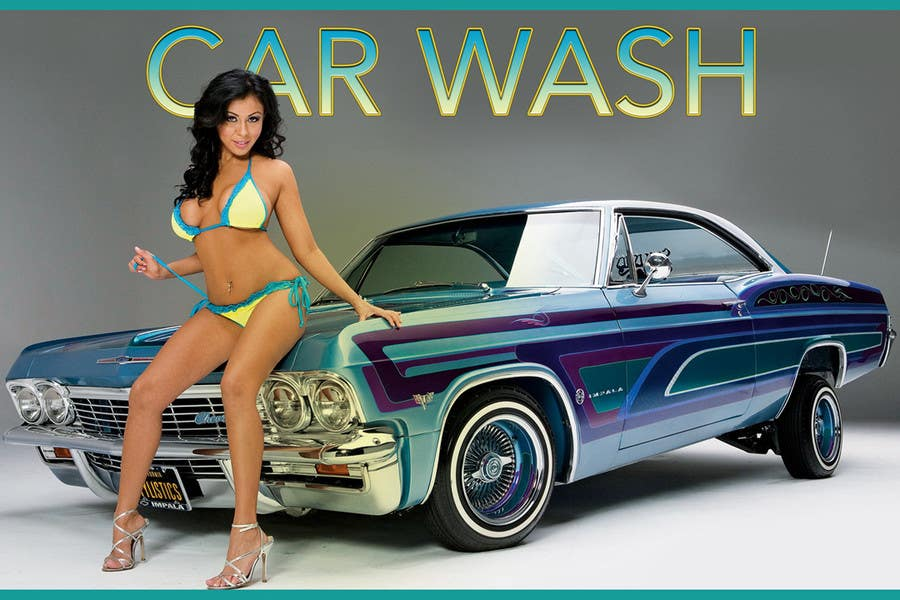 Contest Entry #13 for Design a Banner for Car Wash