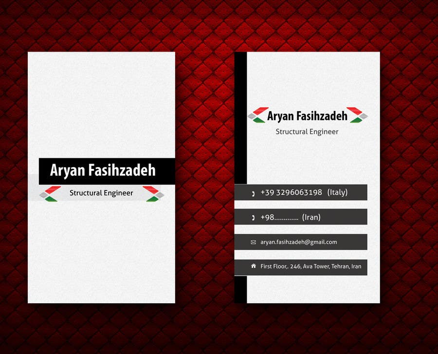 Contest Entry #                                        45                                      for                                         Design some Business Cards
