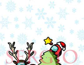 #28 for Design a Christmas and Among Us Themed Image af SGuio