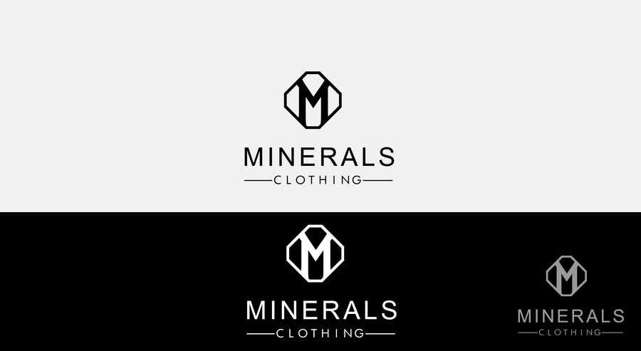 Konkurrenceindlæg #170 for Design a Logo for Minerals Clothing