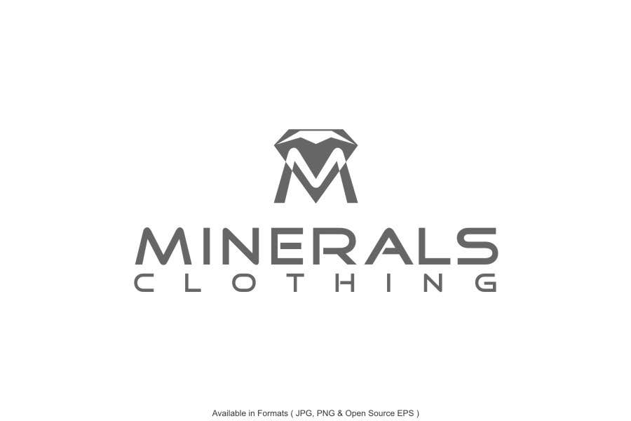 Konkurrenceindlæg #206 for Design a Logo for Minerals Clothing