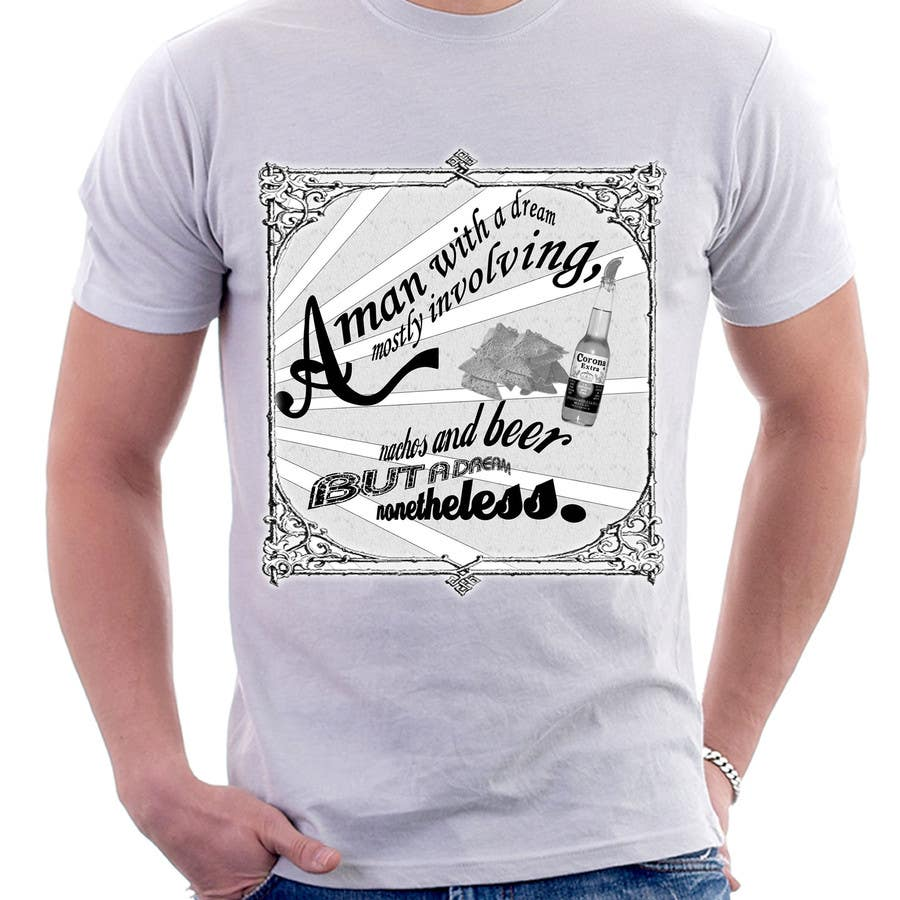 Inscrição nº 11 do Concurso para Retro Grey T-shirt Design Nacho