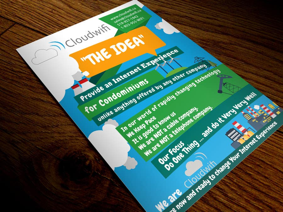Contest Entry #                                        9                                      for                                         Design a Flyer for our company