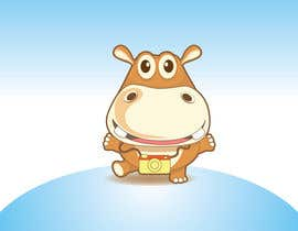 #3 para Illustration for a company mascot. [Hippo] por HimawanMaxDesign