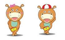 Illustration for a company mascot. [Hippo] için Graphic Design17 No.lu Yarışma Girdisi
