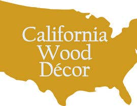 #35 for Design a Logo for California Wood Decor by scchowdhury