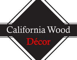 #56 for Design a Logo for California Wood Decor af scchowdhury