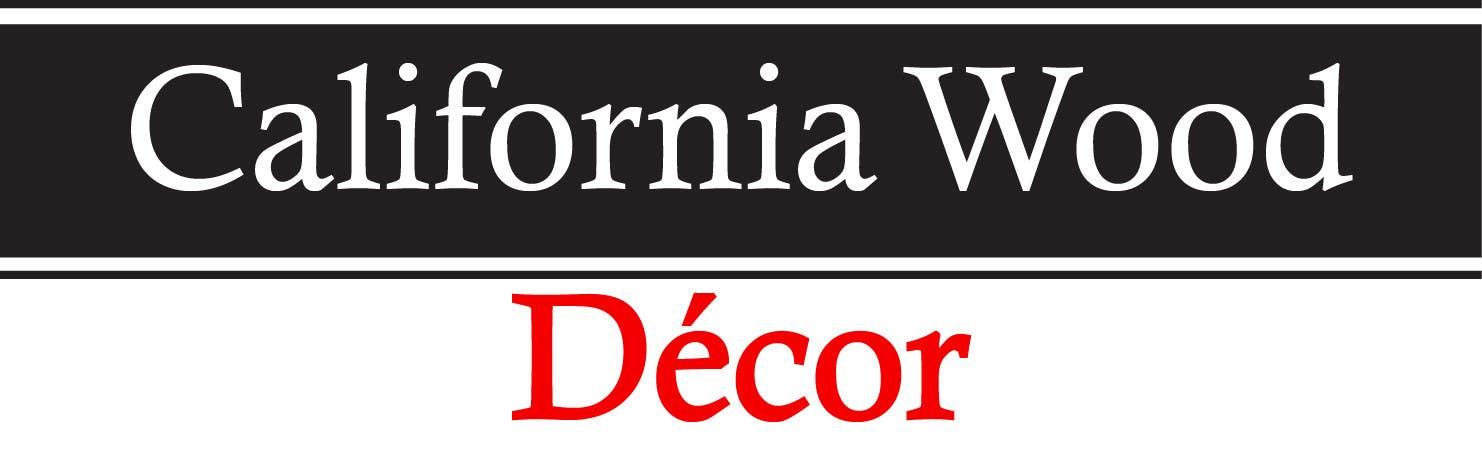 Konkurrenceindlæg #                                        57                                      for                                         Design a Logo for California Wood Decor