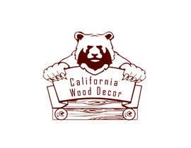 #13 for Design a Logo for California Wood Decor af Helen2386