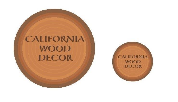 Konkurrenceindlæg #                                        39                                      for                                         Design a Logo for California Wood Decor