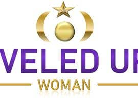 Nro 475 kilpailuun Logo design: Leveled UP! Woman käyttäjältä ChubbyCat740